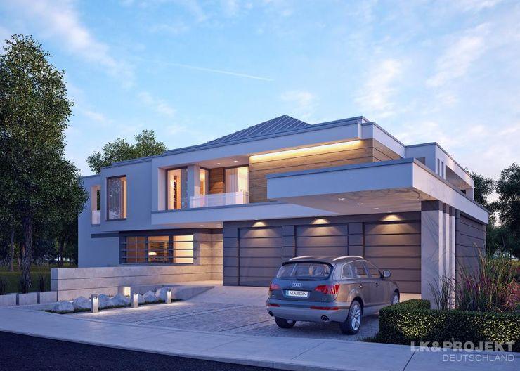 LK&Projekt GmbH Casas de estilo moderno