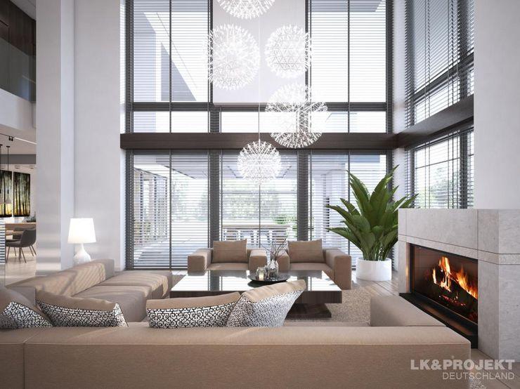 LK&Projekt GmbH Salones de estilo moderno