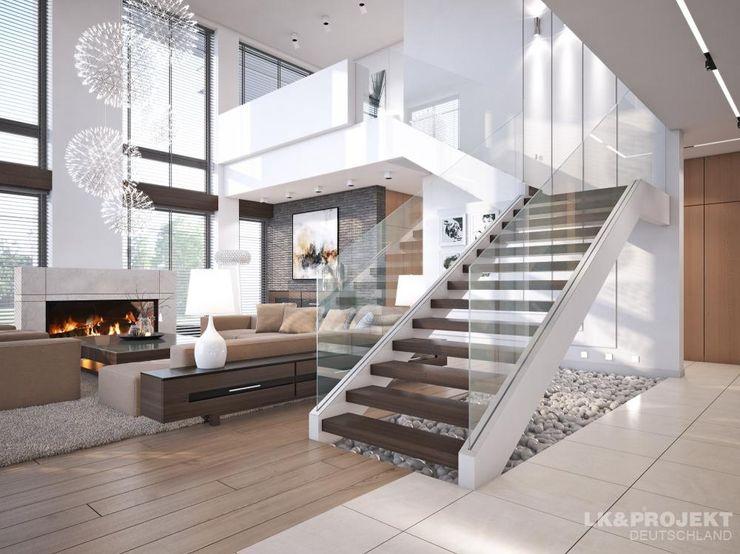 LK&Projekt GmbH Salas de estilo moderno