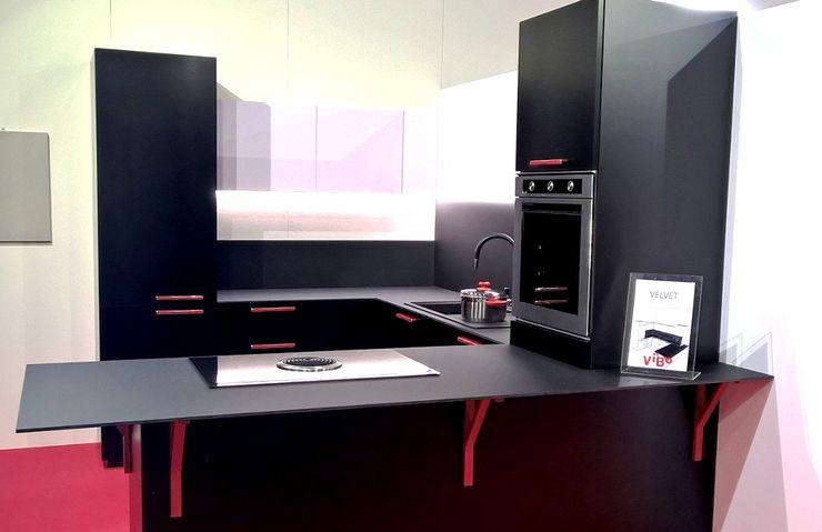 Vibo Cucine sas di Olivero Bruno e c. Industrial style kitchen