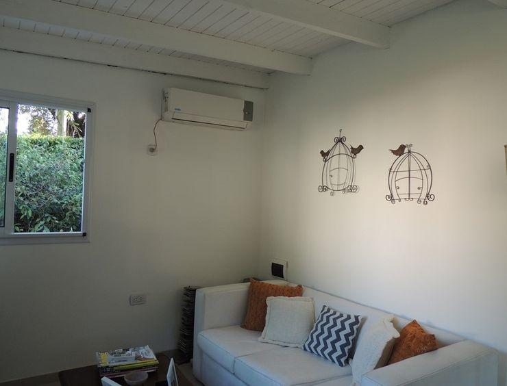 living deco Estudio ZP Livings modernos: Ideas, imágenes y decoración Madera Blanco