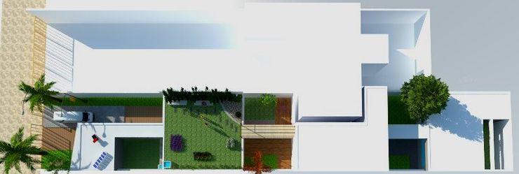 Terraza verde Estudio ZP