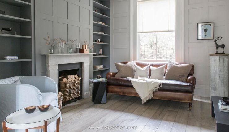Living room 1st Option Representation SalonCheminées & accessoires