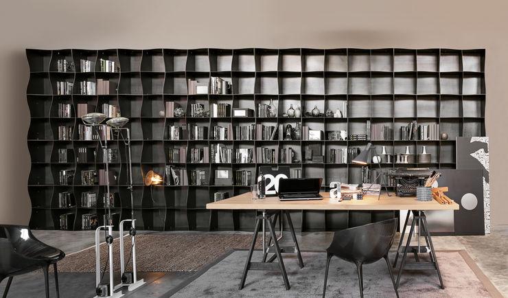 BandIt Design StudioArmadi & Scaffali Ferro / Acciaio Nero