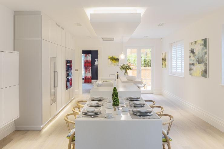 Kitchen/ Family/ Breakfast Room Studio Hooton Modern kitchen