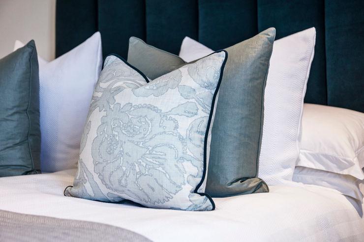 Master Bedroom Cushions Studio Hooton Modern style bedroom