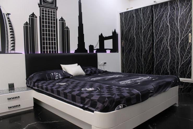 Shadab Anwari & Associates. Asian style bedroom