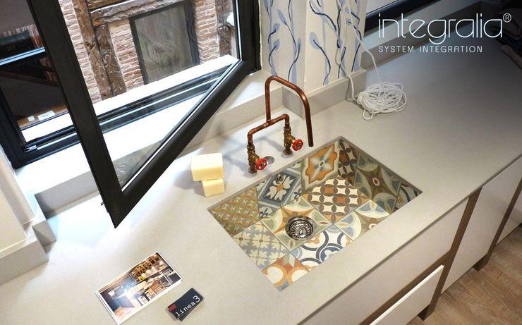 Galeria Milar Lobo Estudio Cocinas Dapur Modern