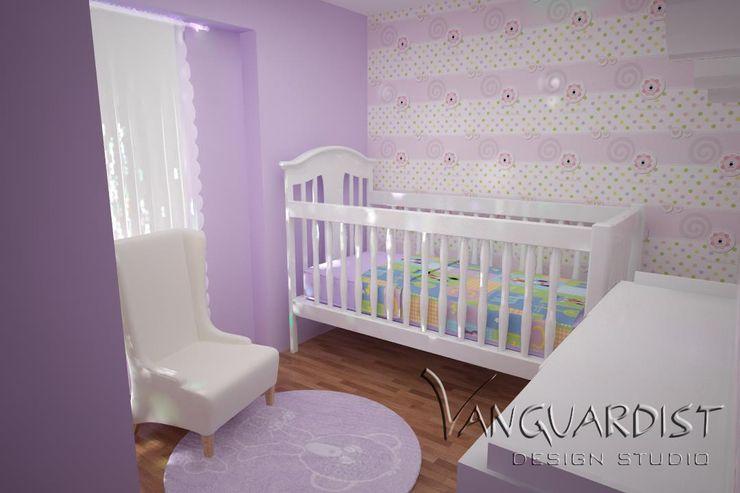 Diseño de Departamento San Borja Vanguardist Design Studio Dormitorios infantiles
