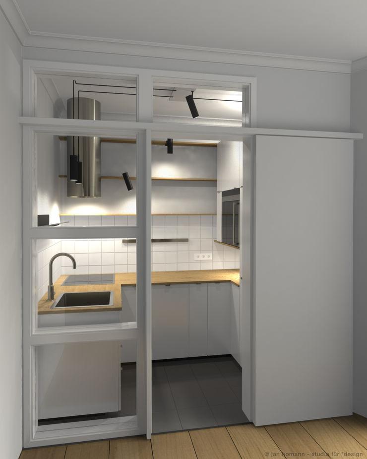 studio jan homann Modern kitchen