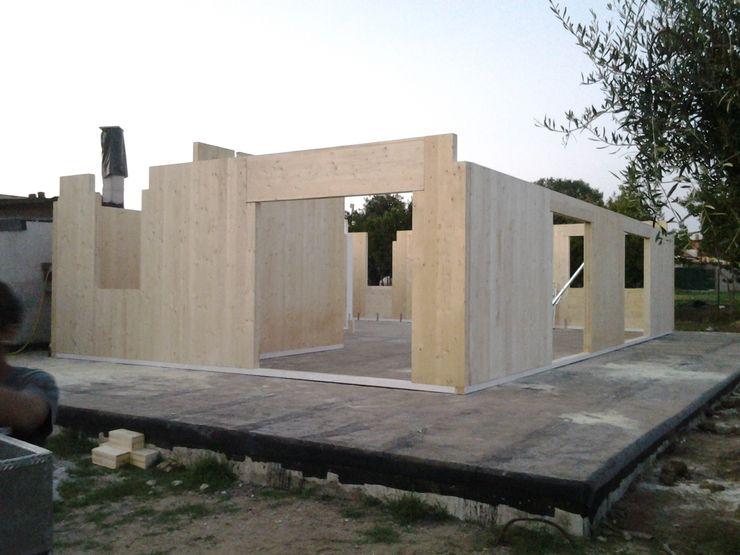 Technowood srl 現代房屋設計點子、靈感 & 圖片