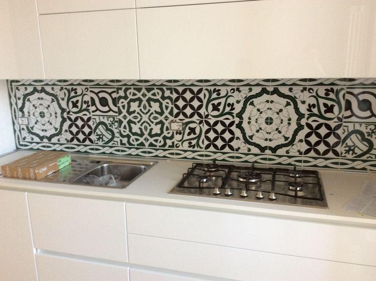 CEAR Ceramiche Azzaro & Romano Srl Modern Kitchen Ceramic Green