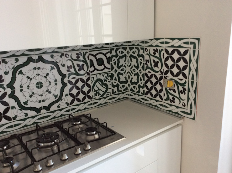 CEAR Ceramiche Azzaro & Romano Srl Kitchen Ceramic Green