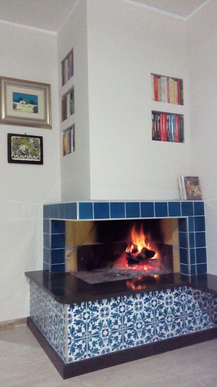 CEAR Ceramiche Azzaro & Romano Srl Living room Ceramic Turquoise
