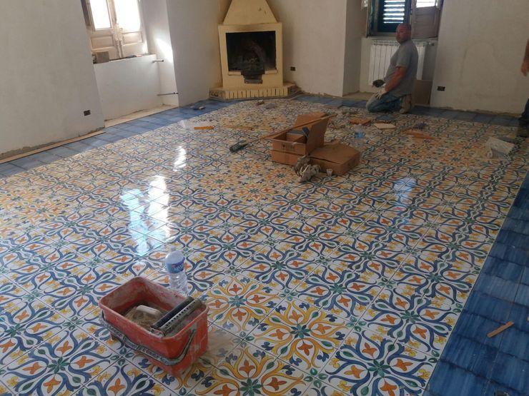 CEAR Ceramiche Azzaro & Romano Srl Walls Ceramic Multicolored