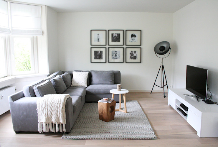 Appartement Amsterdam By Lenny Moderne woonkamers