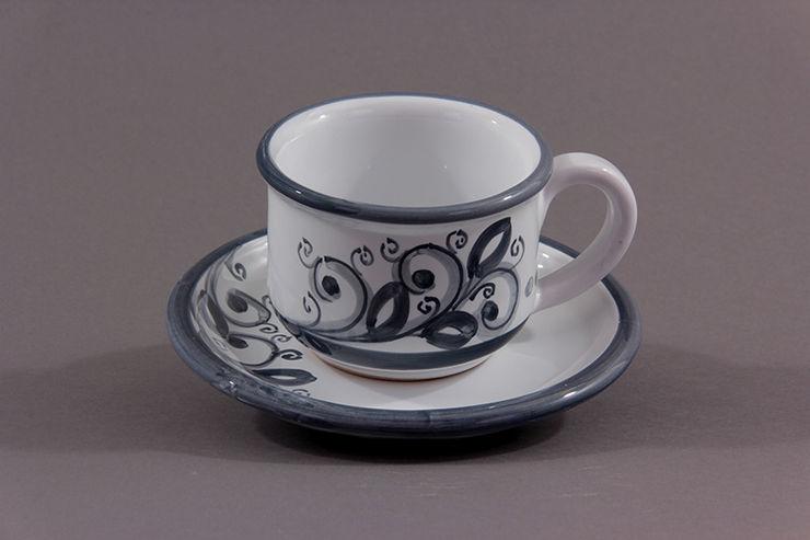 CEAR Ceramiche Azzaro & Romano Srl HouseholdHomewares Ceramic Grey