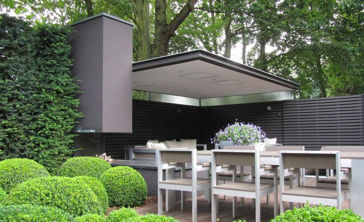 Arend Groenewegen Architect BNA Moderner Balkon, Veranda & Terrasse
