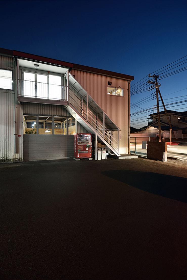 綾瀬のオフィス Bound About Project インダストリアルデザインの 書斎 鉄/鋼