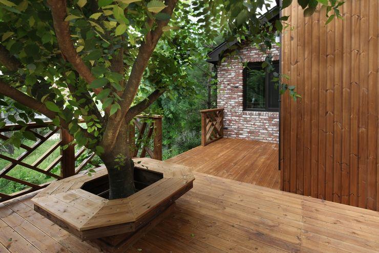 푸른 숲 속, 나만의 미술관 (양평 문호리) 윤성하우징 클래식스타일 정원