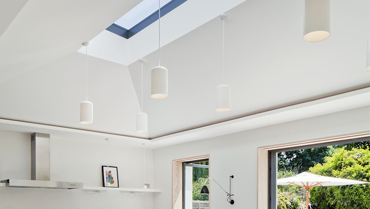 Kitchen Skylight Installation Project for a Private Client Sunsquare Ltd Modern windows & doors