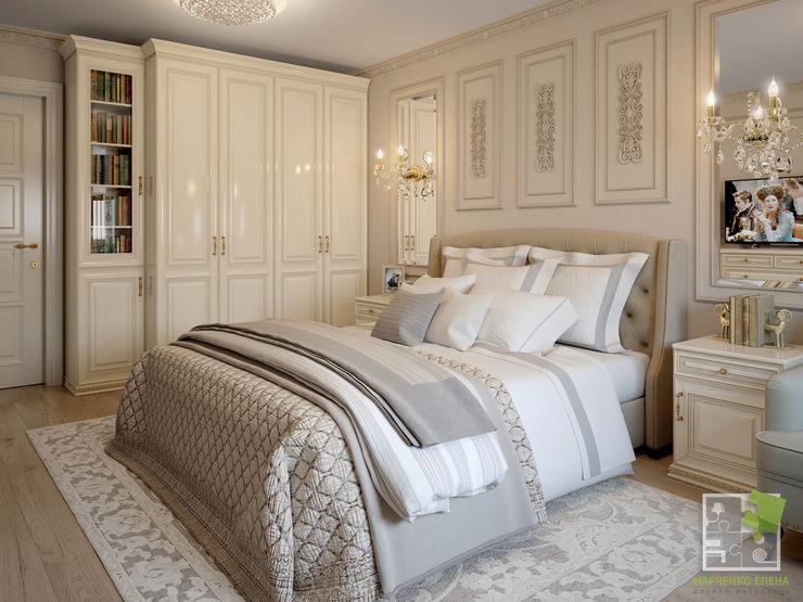 Елена Марченко (Киев) Dormitorios de estilo clásico