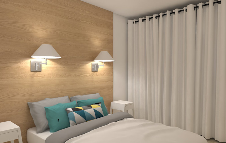 MARTIN Intérieur Scandinavian style bedroom