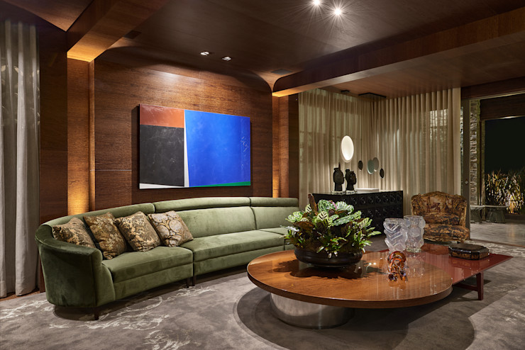 homify Living room Multicolored