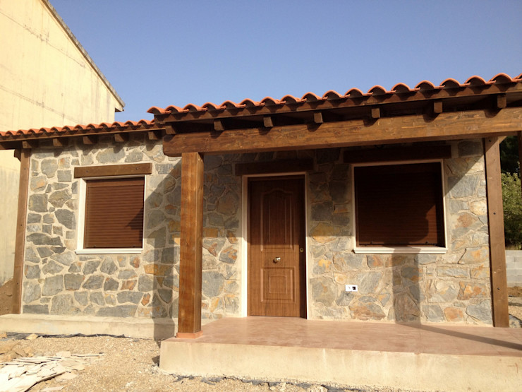 MODULAR HOME Rustic style house