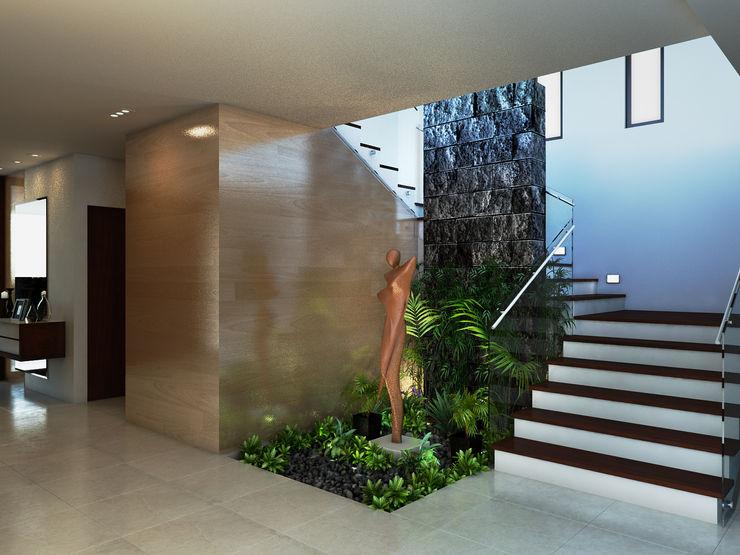 Interiorisarte Moderne gangen, hallen & trappenhuizen