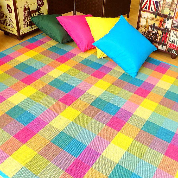 latiendawapa 牆壁與地板地毯 竹 Multicolored