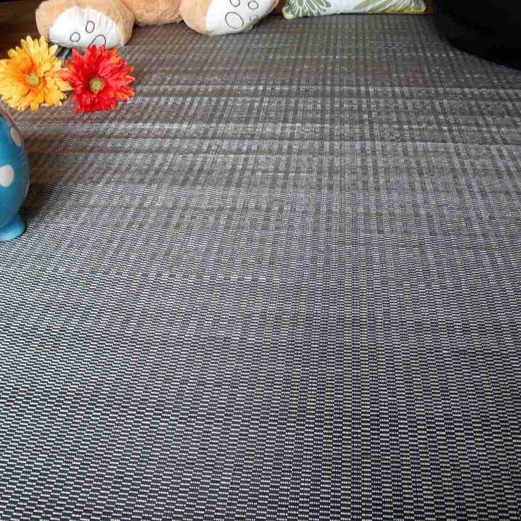 latiendawapa 牆壁與地板地毯 竹 Grey