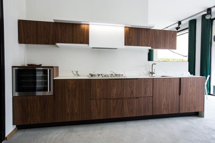 Vibo Cucine sas di Olivero Bruno e c. Kitchen Wood Brown