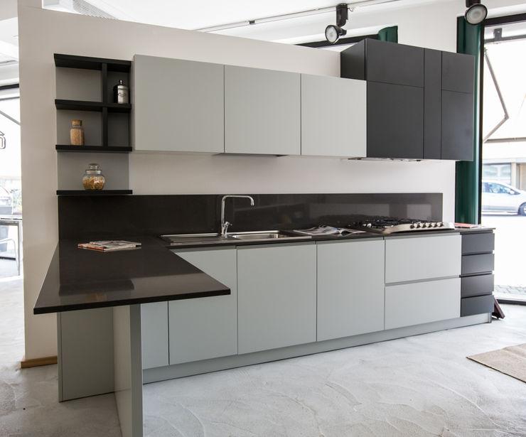 Vibo Cucine sas di Olivero Bruno e c. Modern style kitchen MDF Grey