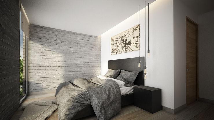 Sulkin Askenazi Modern style bedroom