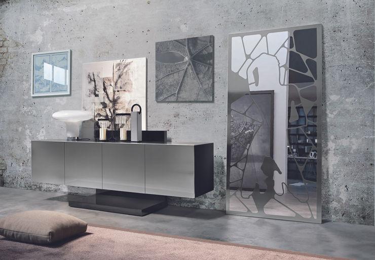 BandIt Design LivingsAparadores y vitrinas Hierro/Acero Metálico/Plateado