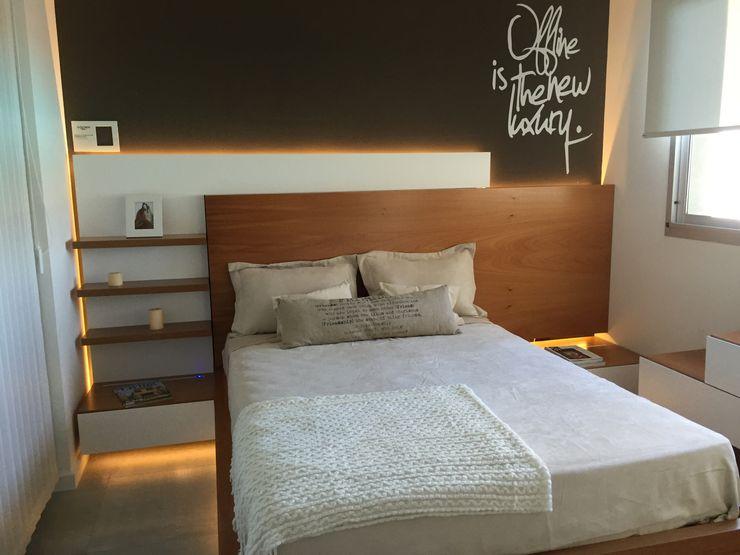 homify Minimalistische slaapkamers