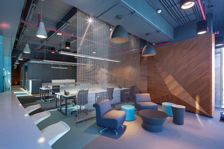 Soccermedia - RIMA Arquitectura RIMA Arquitectura Estudios y despachos de estilo moderno Madera