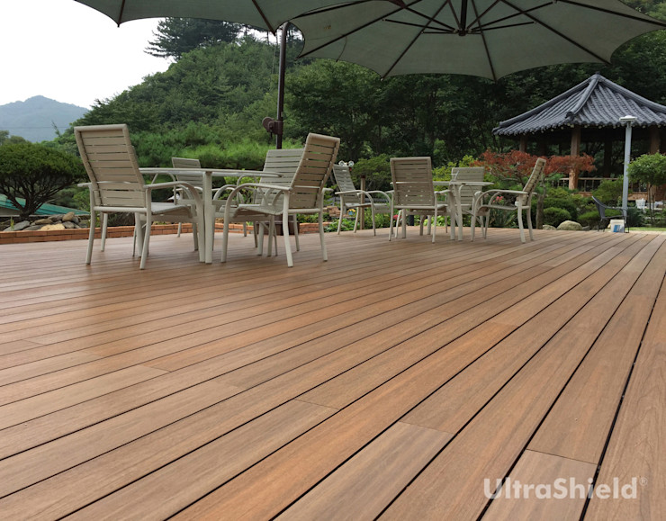 Déco 庭院 複合木地板 Wood effect