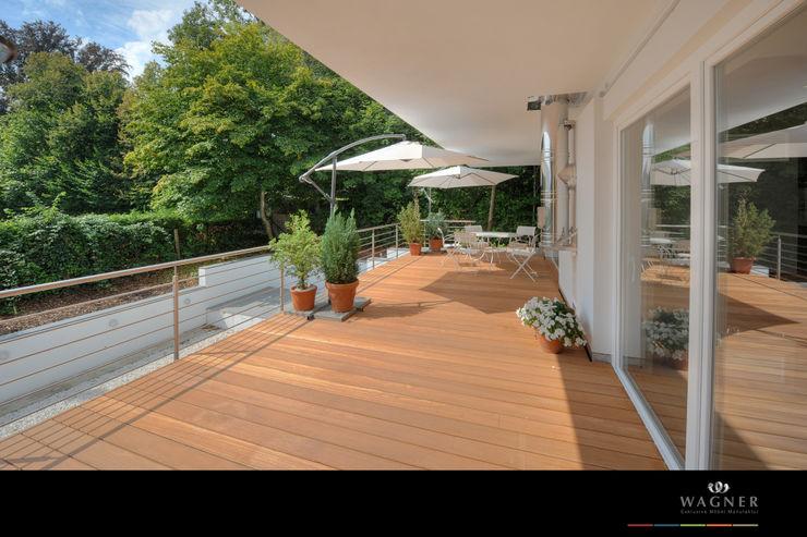 Wagner Möbel Manufaktur Modern balcony, veranda & terrace