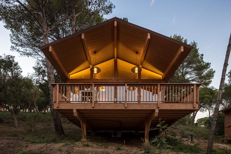 Bungalows | DOS arquitectes Simon Garcia | arqfoto Casas modernas