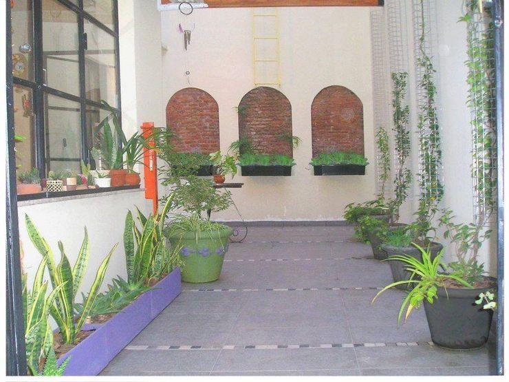 Dhena CONSTRUCCION DE JARDINES Modern Garden Granite Green