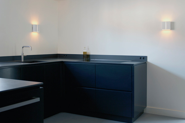 a-LEX Modern Kitchen Black