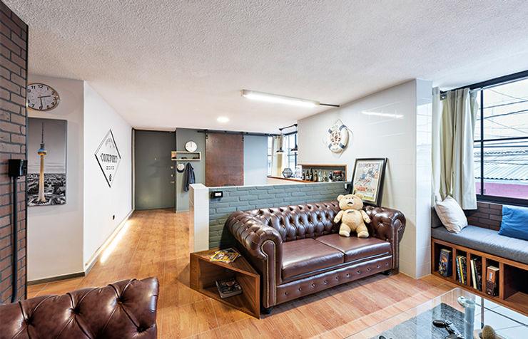 MX Taller de Arquitectura & Diseño Industrial style living room