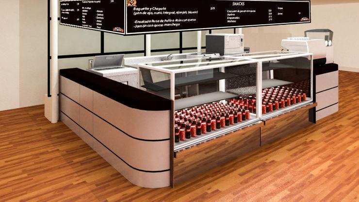 Últimos trabajos Spazio3Design Modern kitchen