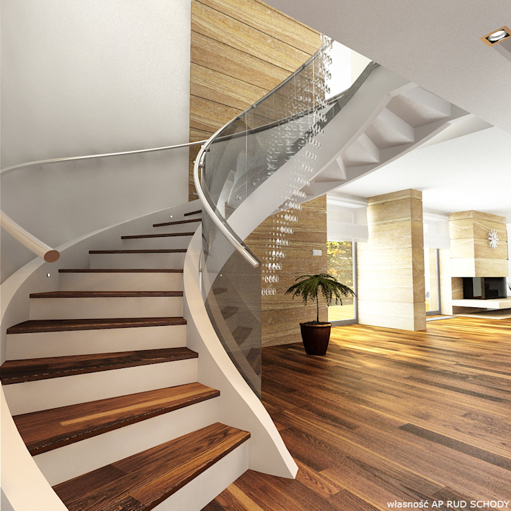 A.P. RUD Schody Modern living room