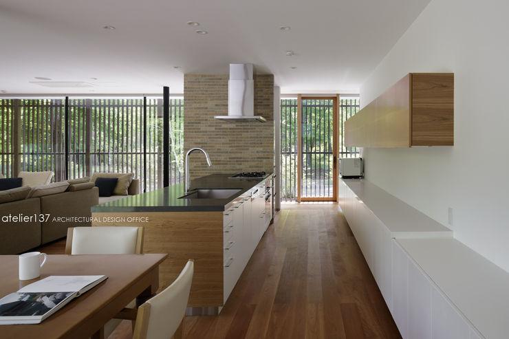 atelier137 ARCHITECTURAL DESIGN OFFICE Modern Kitchen MDF White