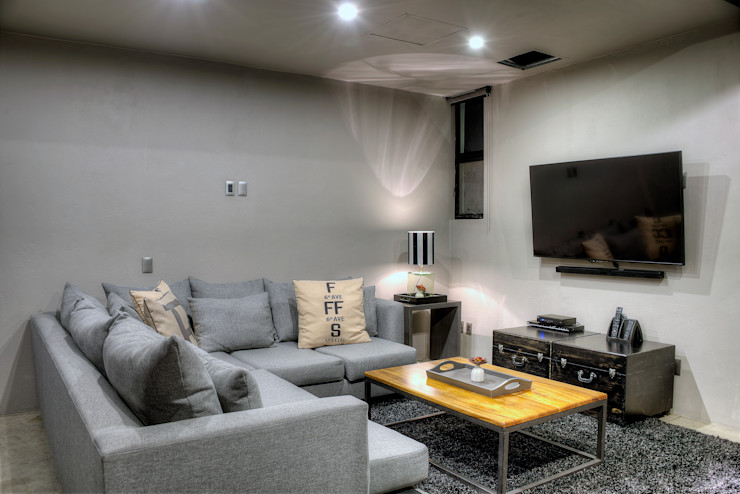 Sala tv Con Contenedores S.A. de C.V. Salas de entretenimiento