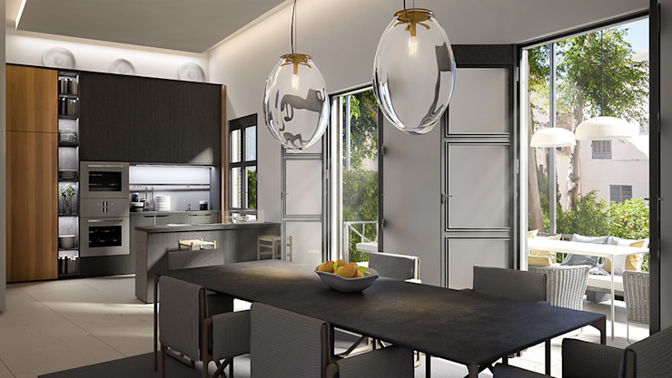 Dining area 4D Studio Architects and Interior Designers