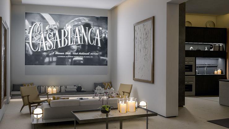 Living Room 4D Studio Architects and Interior Designers
